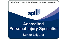 APIL Accredited Personal Injury Specialist - Senior Litigator
