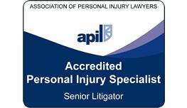 APIL Accredited Personal Injury Specialist - Senior Litigator