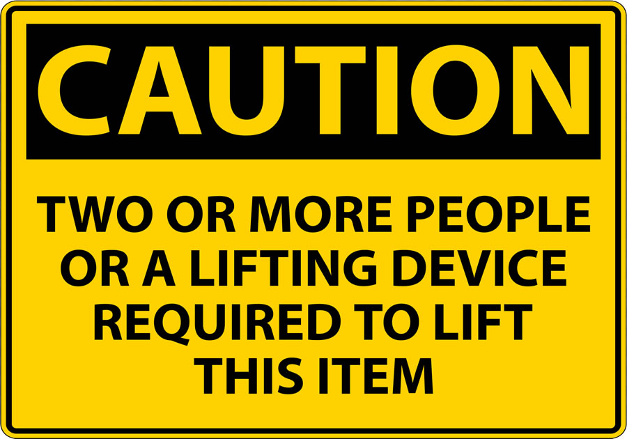 Compensation for Accidents at work: lifting or moving items