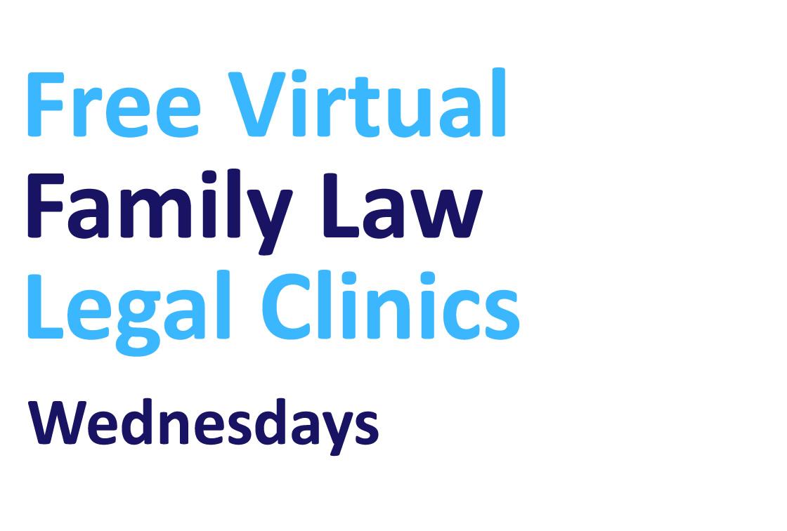 Free virtual Family Law clinics