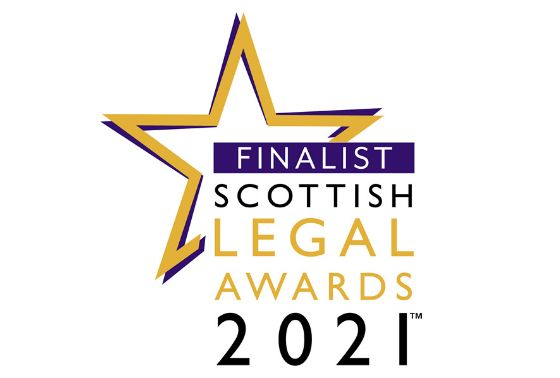 Double Shortlist Success at the Scottish Legal Awards 2021