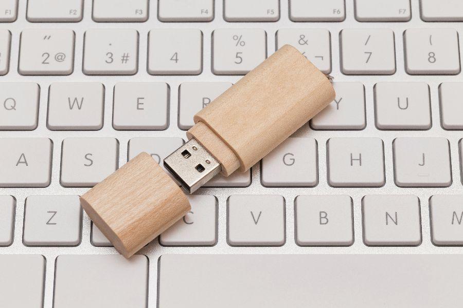 A flash drive