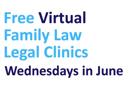 Free virtual family law clinics