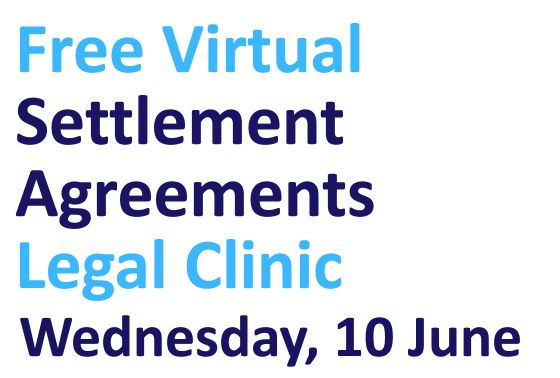 Free virtual settlement agreements clinic