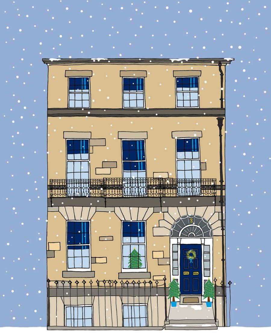 Allan McDougall offices in Coates Crescent, Edinburgh