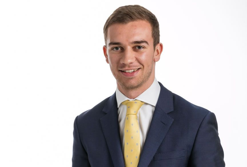 Sean White, solicitor at Allan McDougall Solicitors